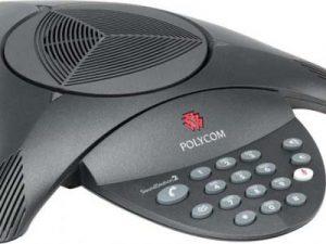 Sản phẩm điện thoại hội nghị Polycom Soundstations 2 phòng họp 12 người