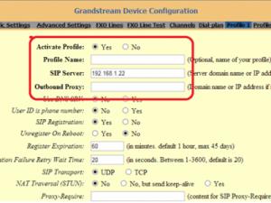 Hướng dẫn chi tiết  cài đặt gateway GXW4108 kết nối với các tổng đài IP Grandstream, Asterish, Freepbx, Elastix...